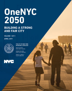 Cover image for OneNYC 2050 Report - 2