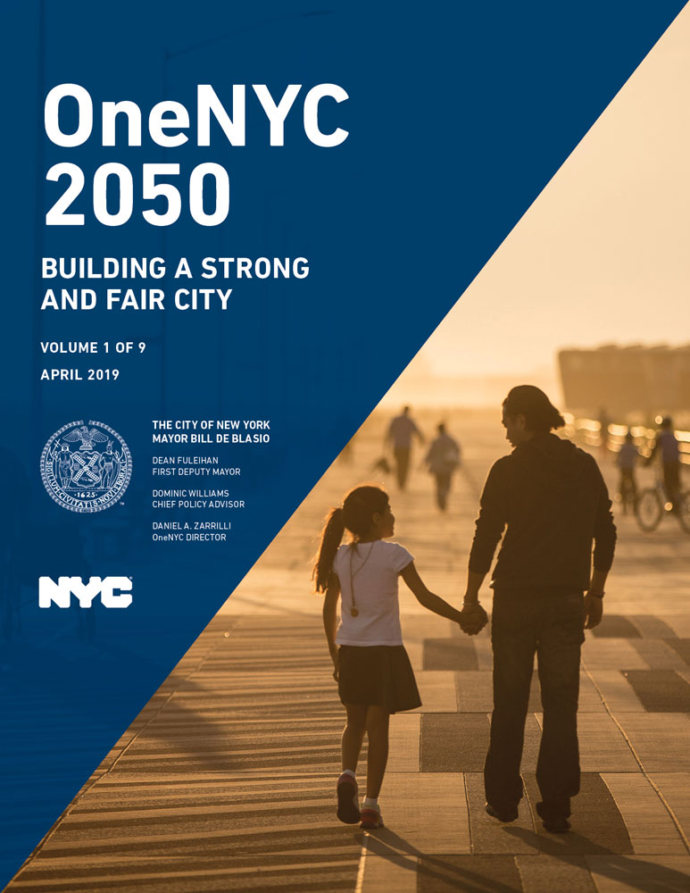 Cover image for OneNYC 2050 Report