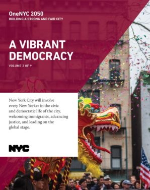 Cover image for OneNYC: A Vibrant Democracy Report - 3
