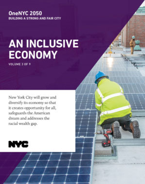 Cover image for OneNYC: An Inclusive Economy Report - 4